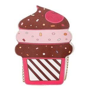 Whimsical Cupcake Crossbody Handbag